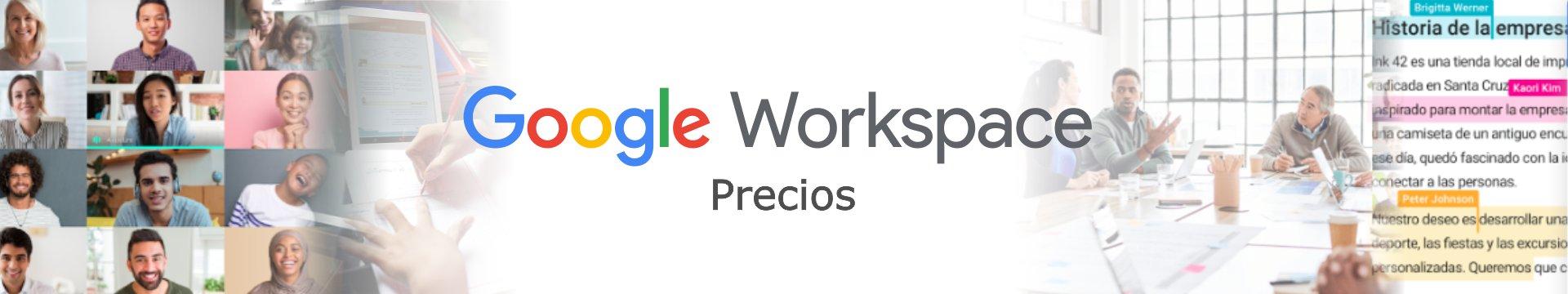 Precios de Google Workspace Peru y G Suite Peru