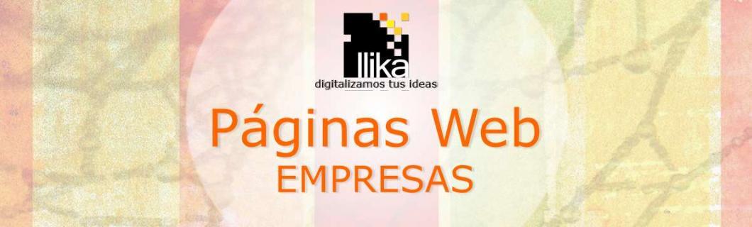Páginas Web para Empresas, Organizaciones,  Instituciones y Corporaciones